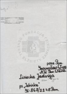 Lisiecka Jadwiga