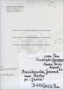 Manikowska Joanna
