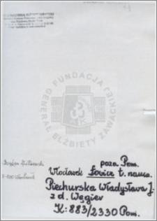 Piechurska Władysława