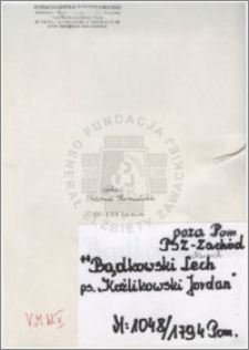 Bądkowski Lech