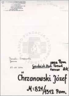Chrzanowski Józef