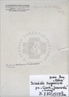Iwański Eugeniusz