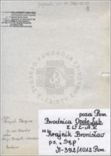 Krajnik Bronisław