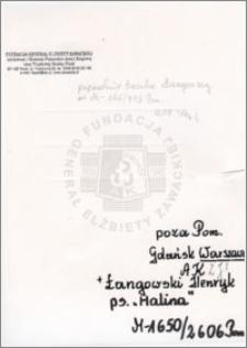 Łangowski Henryk