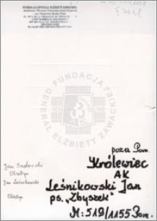 Leśnikowski Jan