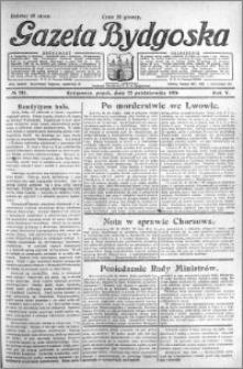Gazeta Bydgoska 1926.10.22 R.5 nr 244