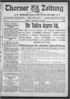 Thorner Zeitung 1915, Nr. 11 1 Blatt