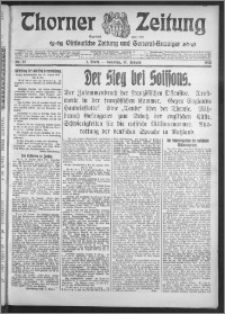 Thorner Zeitung 1915, Nr. 14 1 Blatt