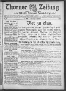 Thorner Zeitung 1915, Nr. 15 1 Blatt