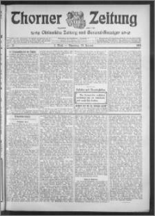 Thorner Zeitung 1915, Nr. 21 1 Blatt