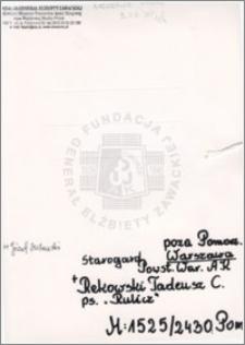 Rekowski Tadeusz