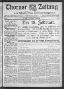 Thorner Zeitung 1915, Nr. 34 1 Blatt