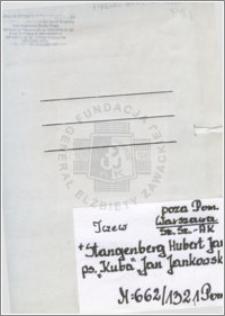 Stangenberg Hubert Jan