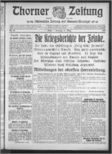 Thorner Zeitung 1915, Nr. 62 1 Blatt