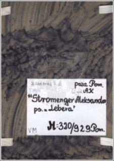 Stromenger Aleksander