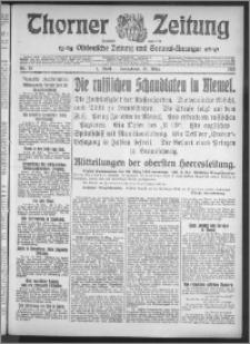 Thorner Zeitung 1915, Nr. 73 1 Blatt