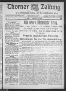 Thorner Zeitung 1915, Nr. 77 1 Blatt