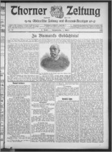 Thorner Zeitung 1915, Nr. 77 2 Blatt