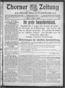 Thorner Zeitung 1915, Nr. 78 1 Blatt