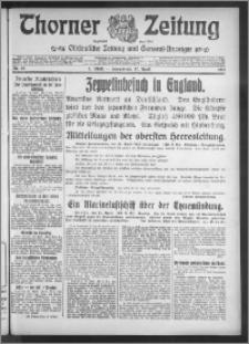 Thorner Zeitung 1915, Nr. 89 1 Blatt