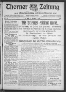 Thorner Zeitung 1915, Nr. 131 1 Blatt