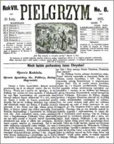 Pielgrzym, pismo religijne dla ludu 1875 nr 8