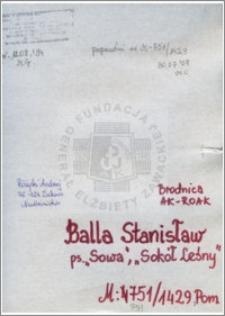 Balla Stanisław