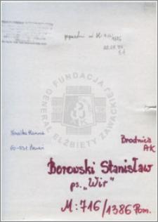 Borowski Stanisław