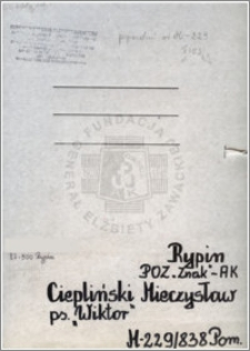 Ciepliński Mieczysław