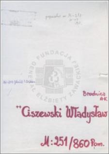 Ciszewski Władysław