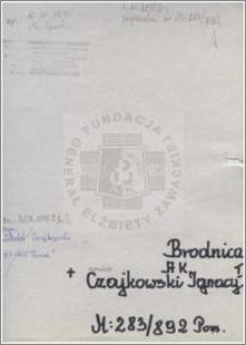 Czjkowski Ignacy I