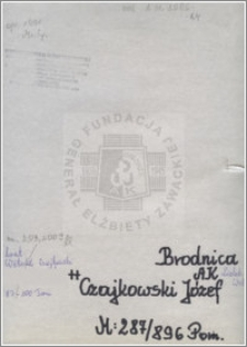 Czajkowski Józef