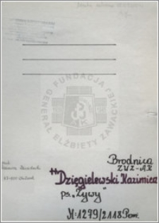 Dzięgielewski Kazimierz