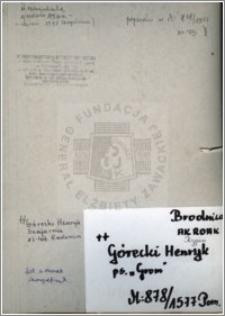 Górecki Henryk