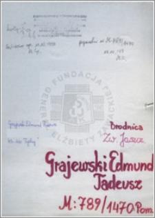 Grajewski Edmund Tadeusz