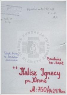 Kalisz Ignacy
