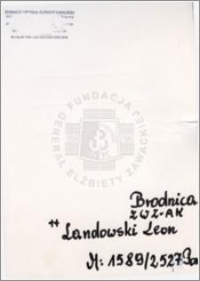 Landowski Leon