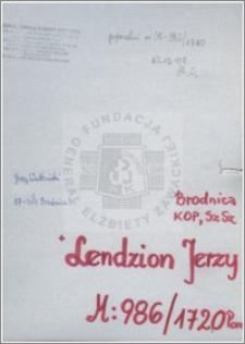 Lendzion Jerzy