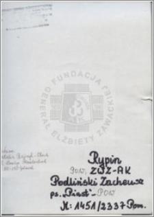 Podliński Zacheusz