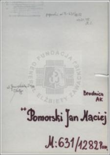 Pomorski Jan Maciej