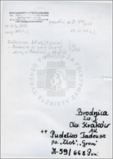 Pudełko Tadeusz