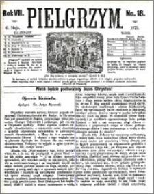 Pielgrzym, pismo religijne dla ludu 1875 nr 18