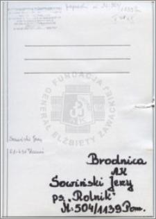 Sowiński Jerzy