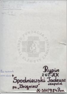 Spodniewski Tadeusz