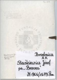 Staśkiewicz Józef