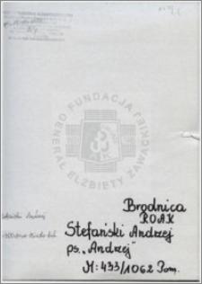 Stefański Andrzej