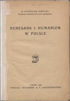 Renesans i humanizm w Polsce