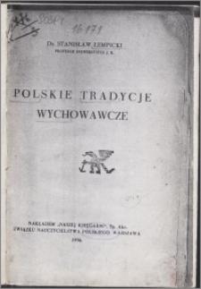 Polskie tradycje wychowawcze
