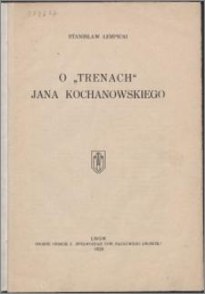 """O """"Trenach"""" Jana Kochanowskiego"""