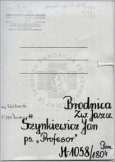 Szynkiewicz Jan